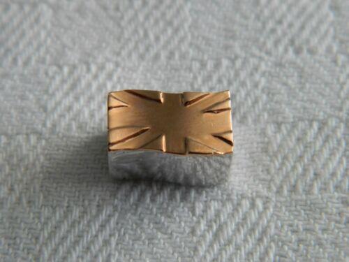 Clogau Silver /& 9ct Welsh Gold British Flag Bead Charm RRP £199.00