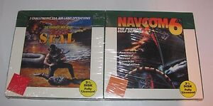 NAVCOM-6-NAVY-SEAL-GAMES-IBM-PC-COMPATIBLE-COSMI-1993-3-5-034-DISK-NEW-SEALED