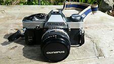 Olympus OM20 35mm SLR Film Camera with 50mm lens..olympus