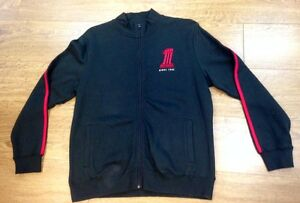 HARLEY DAVIDSON GENUINE WORLDS FINEST CADET JACKET BLACK MENS JUMPER FULL ZIP