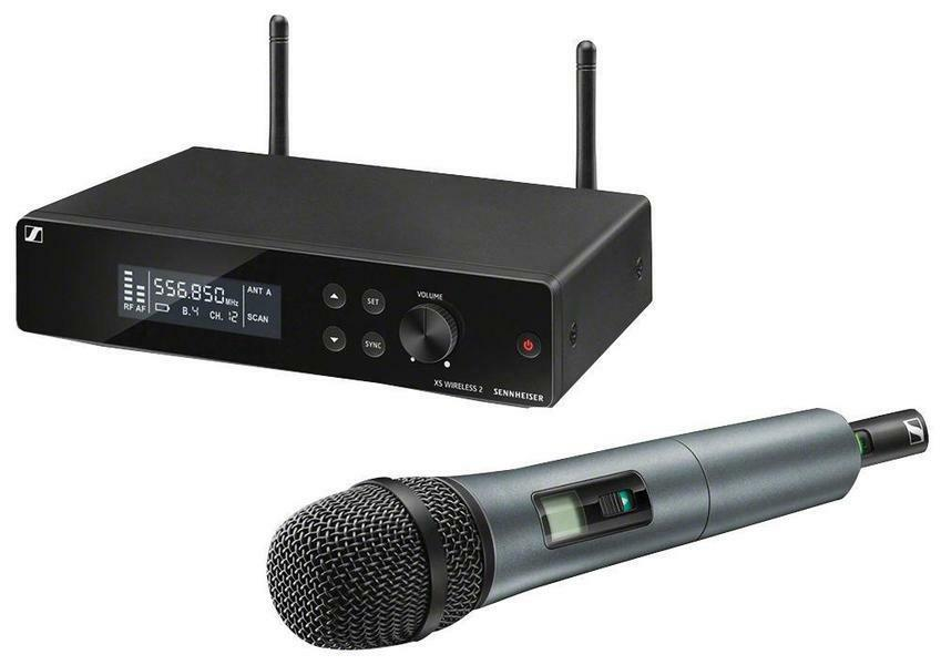 UHF Dynamic Handheld Wireless Microphone System 821-832MHz, 863-865MHz