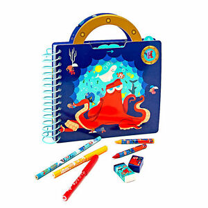 NEW-Disney-Store-Finding-Dory-Fun-on-the-Run-Art-Pack-Marker-Pencil-Set-Case