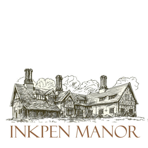 Inkpen Manor luxe nuit noir A4 Premium Carte Artisanat 120gsm 297 x 210 mm
