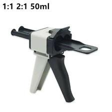 Dental 11 21 Ratio Dispensing Gun Impression Mixing Dispenser 50ml 1piece