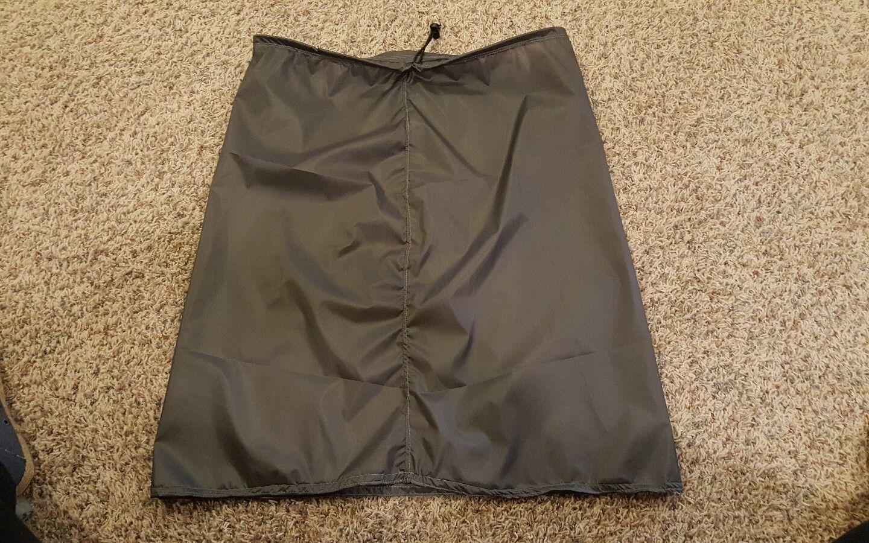 UL Hiker Ultra Lite Cascade  Rain Kilt Skirt Sil Poly 1.1 Olive color  NEW