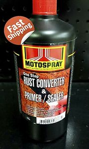Rust Converter Primer Sealer 1l One Step Auto Spray Marine Panel