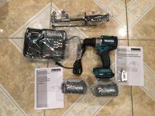 Makita Gph01d 40v 12 In Hammer Drill Driver Kit New