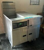 PITCO FRIALATOR SINGLE BAY GAS FRYER SGBNB14 KITCHEN FAST FOOD