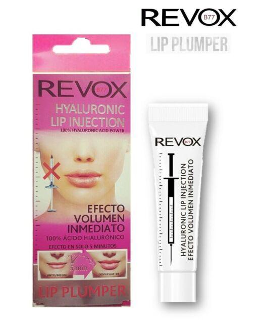 REVOX LIP PLUMER Voluminizador labios efecto inmediato 100% Acido hialuronico