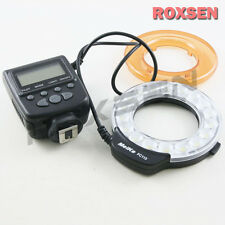 Meike FC-110 LED Macro Ring Flash Light for Sony Alpha A77 A580 A65 A37 Minolta