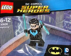 Lego super heroes nightwing minifigure