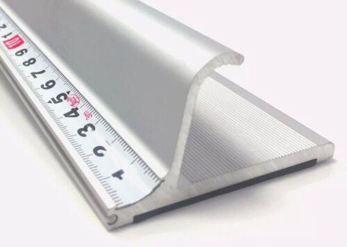 rutschfest 55cm Altera Sicherheitslineal mit Fingerschutz, robustes Aluminium