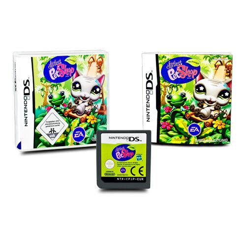 Nintendo Ds Spiel Littlest Pet Shop : Dschungel in Ovp mit Anleitung