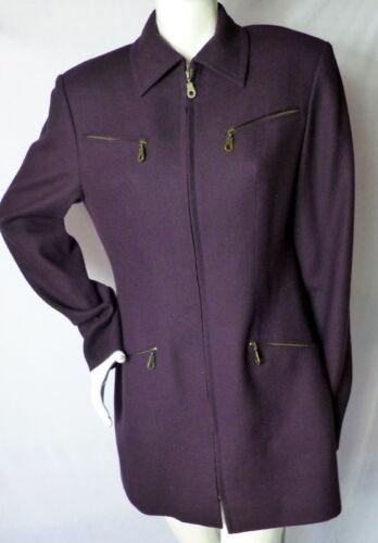 Rare British Hand Peter Wool Women's Tailored Jacket Tailor Kong Hong So xYYqrwPd