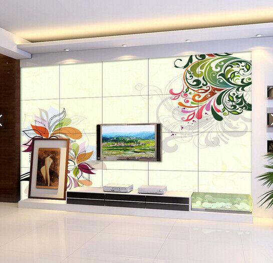 3D Farbe Petals 608 Wallpaper Murals Wall Print Wallpaper Mural AJ WALL AU Kyra