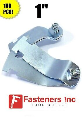 Electro-Galvanized 1 Unistrut 1-5//8 Rigid Steel Conduit Clamp Lot of 100