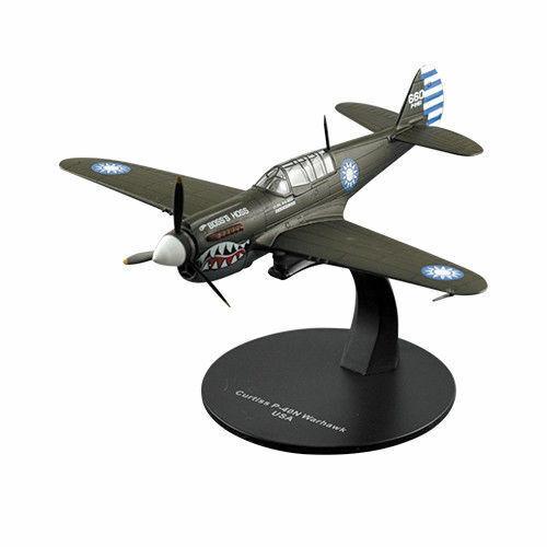 Flugzeug Curtiss P-40N Warhawk 1:72 DeAgostini WW2 Militärfahrzeug G21