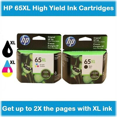 Retail Box HP 61XL High-Yield Ink Cartridge EXPIRE 2020 ! Black or Tri-Color