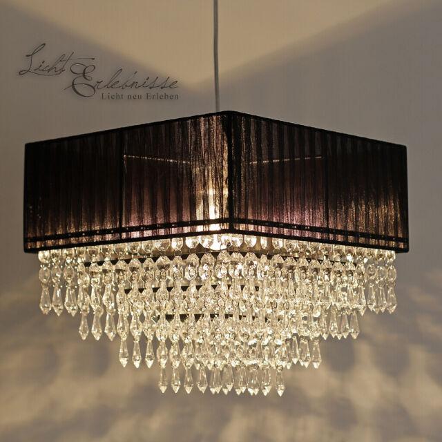 Exclusif (Ve) Lustre Lampe Suspendue Cristal 31 CM Luminaire Plafonnier