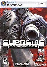 SUPREME COMMANDER PC NEW