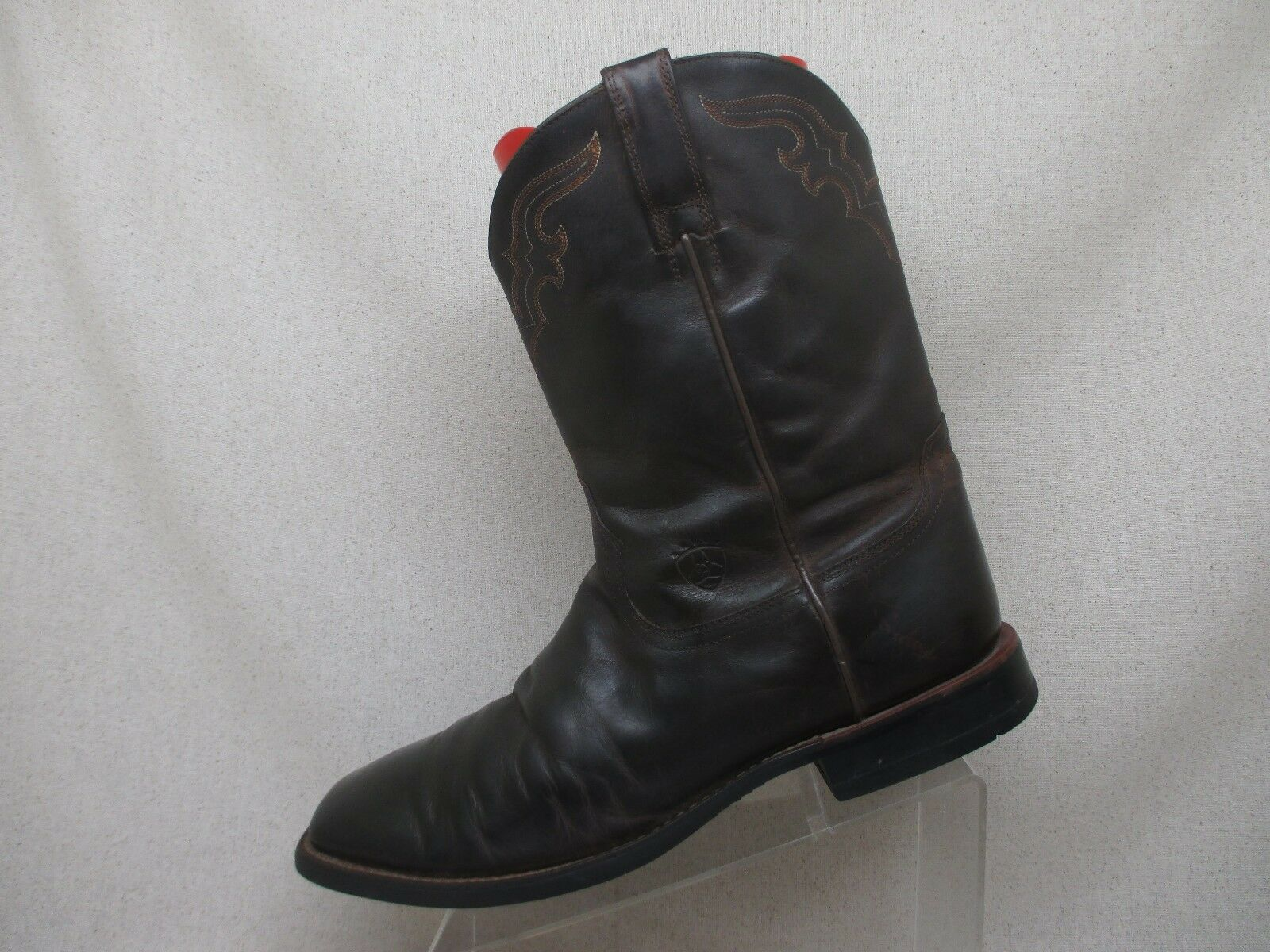 Ariat Braun Leder Stiefel Square Toe Cowboy Western Stiefel Leder Men Größe 12 D Style 38594 bc9d7d