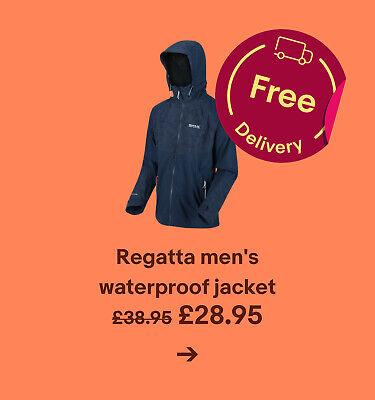 Regatta men's waterproof jacket