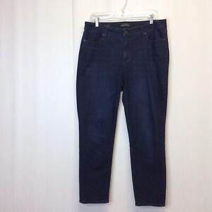 Talbots-Women-039-s-Size-12-Flawless-Five-Pocket-Slim-Ankle-Jeans