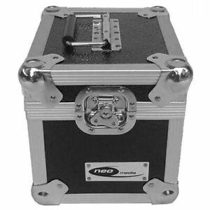 Neo-7-034-Inch-LP-100-Vinyl-Record-Aluminium-Flight-DJ-Storage-Case-Black-Color-New