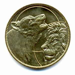 21 ARNAY-SOUS-VITTEAUX Parc de l'Auxois, Loup et lion, Arthus-Bertrand