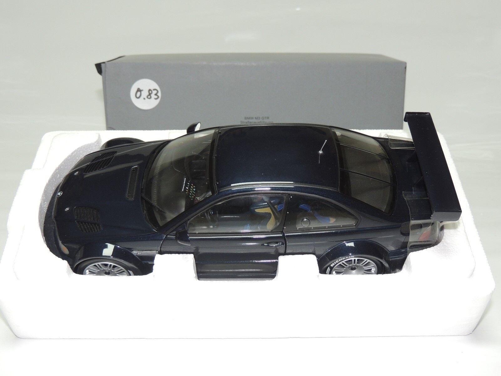 O.83 Minichamps Dealer BMW M3 GTR Straßenausfühung Limitiert 3000 St.  | Sehen Sie die Welt aus der Perspektive des Kindes