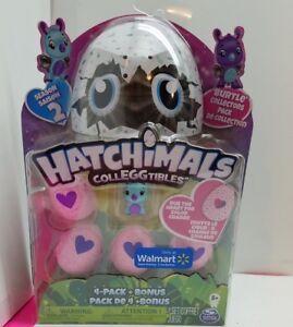 Details About Hatchimals Colleggtibles Season 2 Burtle 4 Pack Eggs Walmart Exclusive Nip 1t