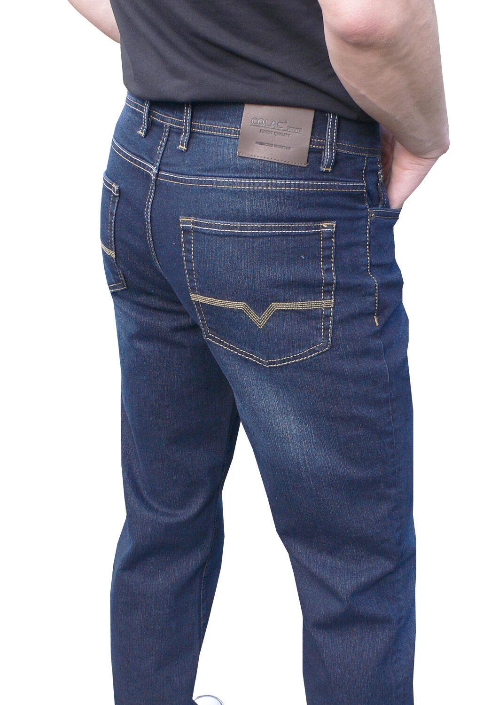 Colac Jeans Uomo Jeans FIVE-POCKET DARK USED 38 32 38 LG 32 1120582 Pantaloni da uomo