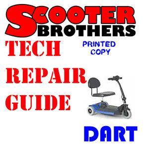 ultimate service guide for pride dart scooter technical repair rh ebay com Pride Electric Scooter Manuals Pride Legend Accessories