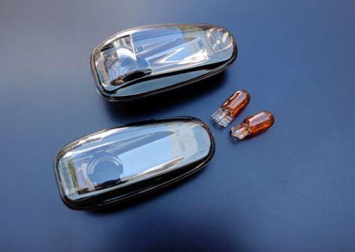 Mercedes Benz Classe C Chrome Noir indicateurs répéteurs W202 S202 turn signals