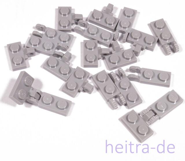 LEGO® Plates Hellgrau 2x4 - Platte 3020-10 50Stk Lightbluishgray