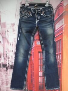 Pantalon Vaquero True Religion Billy Super T Made In Usa Talla 25 37 Cms Ebay