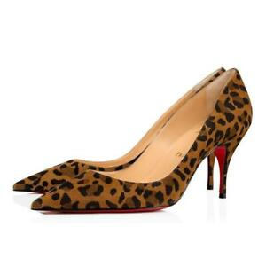 louboutin chaussures leopard
