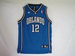 the best attitude e3a1e 5ceb8 Details about ADIDAS NBA TEAM APPAREL ORLANDO MAGIC DWIGHT HOWARD #12  JERSEY SZ YOUTH L 14/ 16