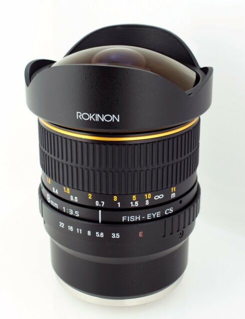 New Rokinon 8mm F/3.5 Fisheye Lens for Sony E Mount