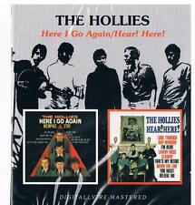 Hollies-Here I go again & Hear! Hear!, 2 USA Alben von 1964 + 1965/CD Neuware