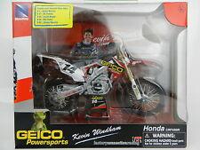 NEWRAY 1:12 *HONDA* CRF450R Kevin Windham #14 #17 Eli Tomac Motocross Dirt Bike