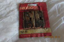 Ridgid Usa 12 R 1 Pipe Threading Dies Nos Never Used