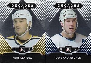 2013-14-ITG-Decades-1990-s-Hockey-base-cards-1-to-100-choose-your-numbers