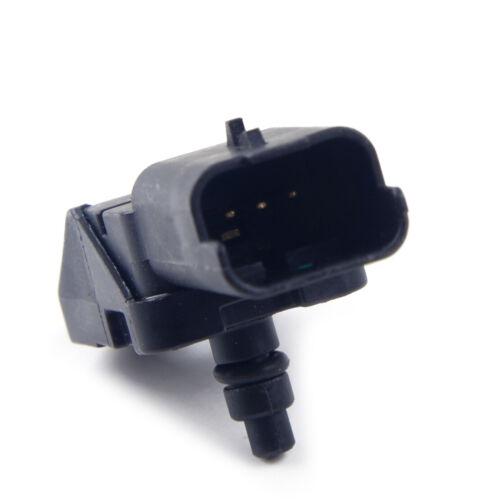 MAP Sensor Boost Passt für Peugeot 1007 206 307 407 1.6 HDI Turbo Druck Schwarz