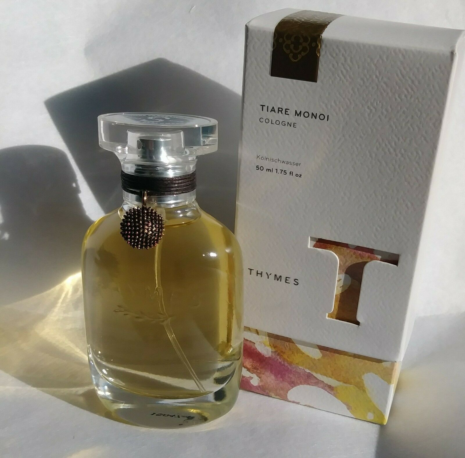 THYMES -TIARE MONOI - OASIS OF WILD INTOXICATING TIARE FLOWERS AND SWEET JASMINE