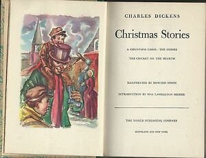 charles dickens christmas stories 3 tales art by howard simon ...