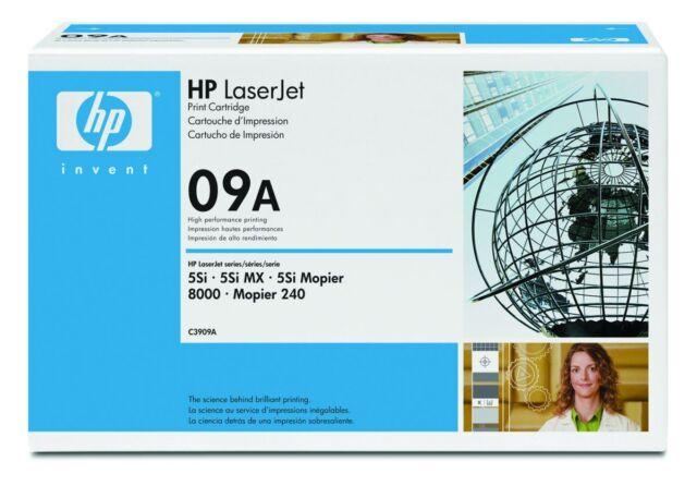 Genuine HP C3909A Black LaserJet Toner Cartridge 09A Brand New 15,000 Pages