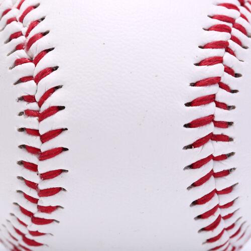 """9/"""" baseballs pvc upper rubber inner soft hard balls softball training exerc   lq"""