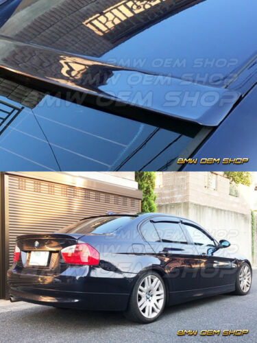 UNPAINTED 06-11 BMW 3-SERIES E90 4DR F TYPE EXTREME REAR ROOF SPOILER