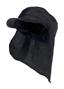 Heat Holders - Uomo invernale nero berretto in pile impermeabile con ... d11514058c95